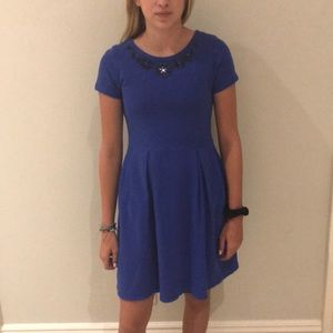 Crewcuts royal blue dress